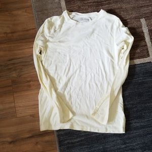 Pale Yellow Long Sleeve